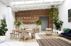 Pop & Scott Showroom in Northcote, Melbourne.  By The Design Files