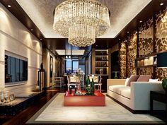 New Item Luxury Crystal Lamp Dia800*h360mm Modern Lustre Crystal Chandelier Lighting Hotel Lobby Light Swag Chandelier Twig Chandelier From Daisy8814, $594.98  Dhgate.Com