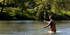 Native Fishing in Pocahontas County, WV  www.PocahontasCountyWV.com