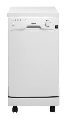 Danby DDW1899WP-1 Portable Dishwasher - http://bestdishwashershop.net/danby-ddw1899wp-1-portable-dishwasher
