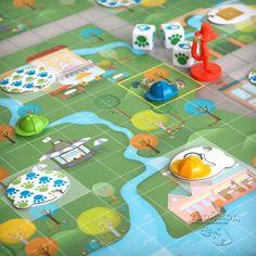 Настольная игра «Коварный лис» ... Board game «Outfoxed» ... #игрыдлядетей #детектив #cluedo #gameforkids #detective #boardgames #outfoxed