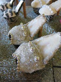 Purple Chocolat Home: High Heel Love - High Heel Cupcakes