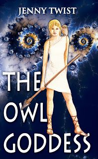 Book Review 'The Owl Goddess' by Jenny Twist - Reviewed by Elise
