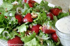 Strawberry Salad wit