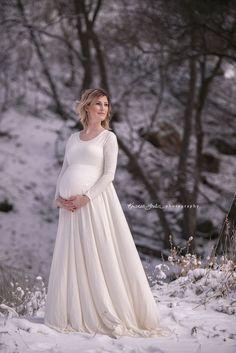 The Kobieta Maternity Maxi Renaissance Photo Dress - product images of