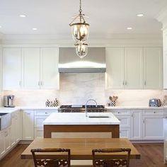 love the white on white | Home Sweet Home | Pinterest | Kitchens ...
