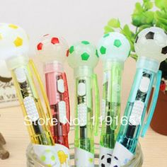 2014 creative products  Lovely  ballpoint pen cartoon pen ballpen bring the lights different colors  Free shipping  30PCS/LOT  $26.98