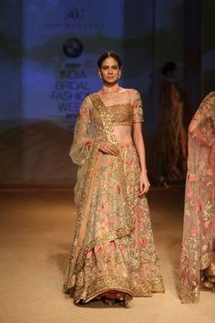 India Bridal Fashion Week 2014   Ashima & Leena
