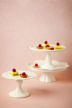 Revelry Cake Stands in Décor Cake Accessories at BHLDN