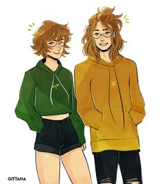 The Leaf and the Sun- Pidge and Matt the Holt siblings from Voltron Legendary Defender
