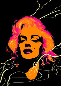 *-*Marilyn_Monroe_Portrait_Illustration_2