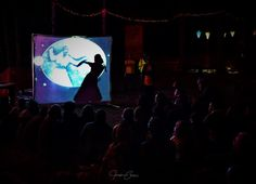 MWS performing The Selkie Bride shadow show. Shadow Theater, Light And Shadow, British Columbia, Bride, Studio, Concert, Fictional Characters, Wedding Bride, Shadow Play