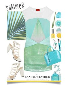 """Summer Breeze Makes Me Feel Fine'"" by dianefantasy ❤ liked on Polyvore featuring Missoni, Valentino, Louis Vuitton, Disney, Liz Claiborne, Peter Thomas Roth, PurMinerals, Clinique, polyvoreeditorial and summersandals"
