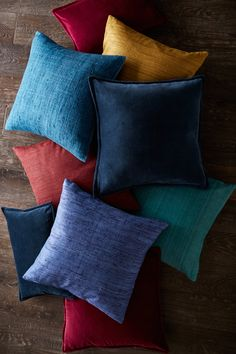 From A Splash Of Color To A Soft Place To Rest, Decorative Throw Pillows  Serve