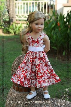 Another spring blossom dress for Kidz'n'Cats dolls | Flickr - Photo Sharing!