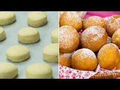 Un seul mouvement et les beignets sont prêts - la plus simple et savoureuse recette ! | Savoureux.TV - YouTube Donuts, Chipotle Rice, Galette, Food To Make, Brunch, Dessert Recipes, Cooking Recipes, Bread, Make It Yourself