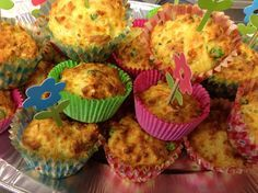 Groenten muffins - leuk om te trakteren