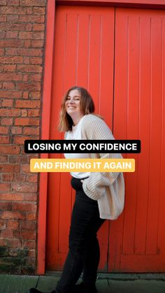 Being confident doesn't come natural to everyone, and we can all have moments when we don't feel confident. This is how I found my confidence and self belief after losing it for awhile.