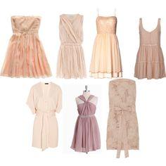 blush bridesmaid dresses II