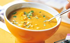 Thailändische Karfiolsuppe Curry, Food Inspiration, Ethnic Recipes, Cilantro, Cauliflowers, Food Portions, Food Food, Curries