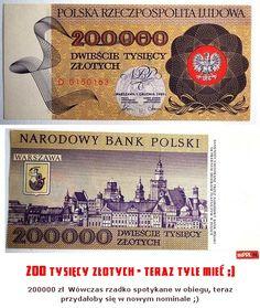 200 tysięcy złotych - teraz tyle mieć ;)