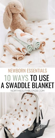 Save money on baby products by using a muslin swaddle blanket in different ways. Practical, multifunctional and a newborn must have! Newborn Essentials | Baby Products | Baby Must Haves | Motherhood | Frugal Living | Swaddling | Swaddle Blankets | Useful Tips | New Moms | Bassinet | Nursery Decor | Nursing | Car Seat Cover | Washcloths | Gender Neutral Amazon | Nightingale Baby | Muslin Blankets, Muslin Swaddle Blanket, Baby Swaddle, Newborn Essentials, Preparing For Baby, Tummy Time, Cover Pics, Baby Hacks, Raising Kids
