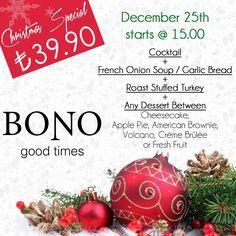 #bonogoodtimes #christmas #special #marmaris #christmasmenu