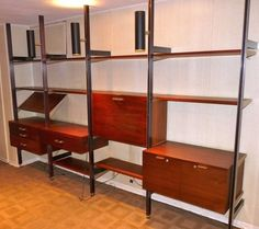 Original: George Nelson for Herman Miller CSS Wall Unit DIY Projects Inspired by Famous Mid Century Designs