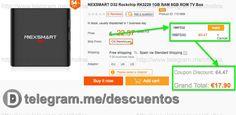 Android TV 1GB/8GB Nexsmart por sólo 1790 - http://ift.tt/2gkku6E