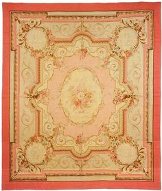 Aubusson rug - Warp & Weft