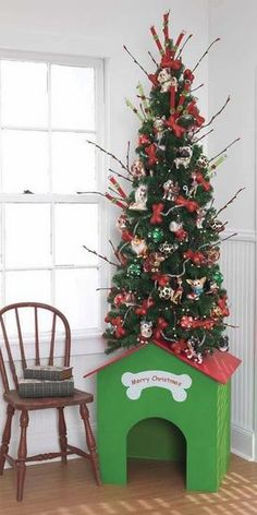 merry christmas dog dogs ornaments doghouse merry christmas dog themed christmas trees christmas animals