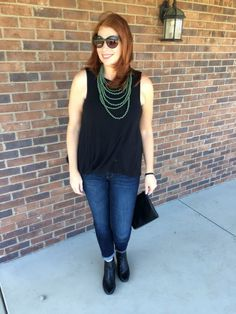 Shop your closet by Jaymie Ashcraft Peridot Necklace, Jean Outfits, Cool Style, Tank Tops, Purple, How To Make, Closet, Fun, Shopping