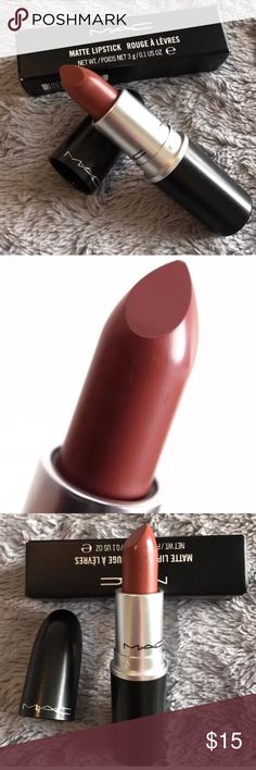 MAC Matte Lipstick BNIB - Whirl 💄 M·A·C Lipstick – DIRTY ROSE- the iconic product that made M·A·C famous. This creamy rich formula features high colour payoff in a no-shine matte finish. MAC Cosmetics Makeup Lipstick