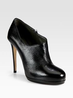 Reed Krakoff - Pebbled Leather Monolith Heel Ankle Boots