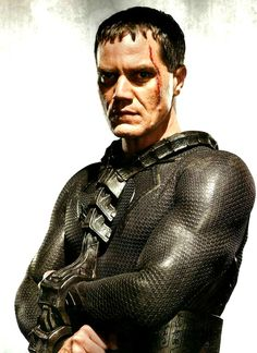 Michael Shannon as General Zod in Man of Steel v Superman: Dawn of Justice Superman Movies, Dc Movies, Movie Characters, Dc Heroes, Comic Book Heroes, General Zod, Michael Shannon, Superman Man Of Steel, The Villain