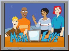 Math Live, animated math lessons with some real world examples/applications