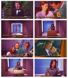 This scene was beyond perfect.