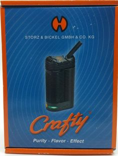 Dry herb Crafty vaporizer from volcano  Buy vaporizers in kansas city. Top of the line vaporizers, vape pen, portable vaporizers store in kansas city