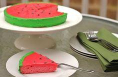 decorate a watermelon cake - Celebrations At Home blog