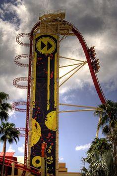 Best Roller Coaster. EVER! Rip Ride Rocket @ Universal Studios FL - another fav!