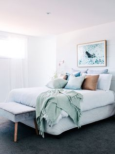 6 Staggering Tips: Minimalist Bedroom Boho Kids minimalist bedroom ideas quartos.Minimalist Bedroom Closet Home minimalist interior style texture.Minimalist Bedroom Dresser Walk In Closet. Interior Design Minimalist, Minimalist Bedroom, Minimalist Home, Minimalist Lifestyle, Modern Design, Bedroom Carpet, Home Bedroom, Bedroom Decor, Bedroom Ideas