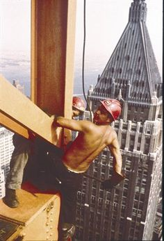 Mohawk Indians did much of the skyscraper work on projects as diverse as the Empire State Building and the World Trade Towers.