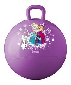 Look at this #zulilyfind! Frozen Purple Hopper Ball #zulilyfinds