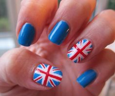 Union Jack Nails - get in the Jubilee spirit