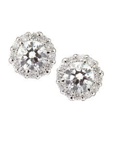 ★ Soulful White ★ Diamond Stud Earrings by Neiman Marcus Diamonds at Neiman Marcus Last Call.