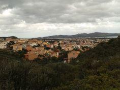 Foto panoramica di La Maddalena ( Sardegna )