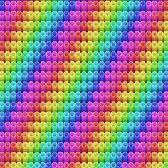 This is another rainbow type pattern that I created with Microsoft Paint.