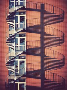#shadows #stairs #spiralling