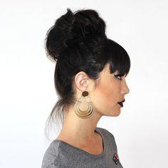 Morrocan Lover Earrings - Gold