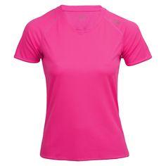 max-Q.com Basic Running Shirt | Damen Laufshirt Pink | 21run.com